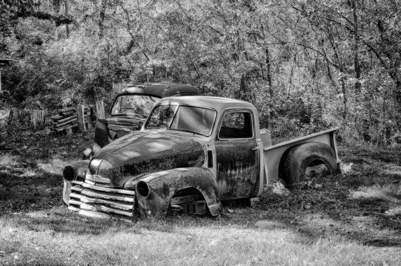 Old Truck near the Creek