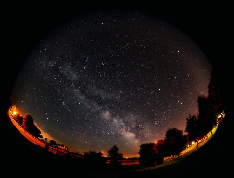The Milky Way-Backbone of Night
