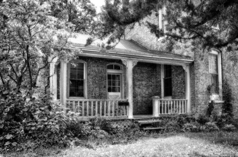 Judge Lewis Home Porch