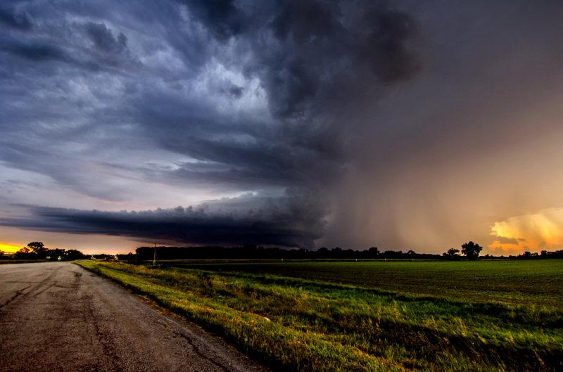 Storm Over Hall Bottom
