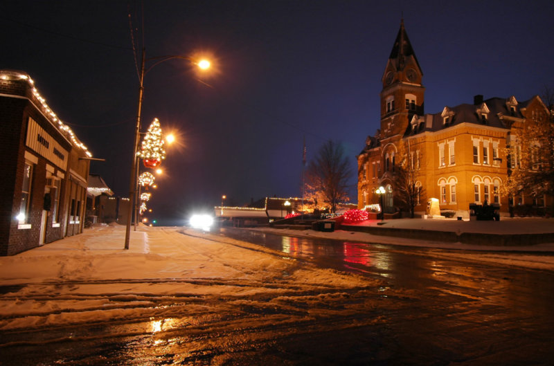 Courthouse & Wood Street