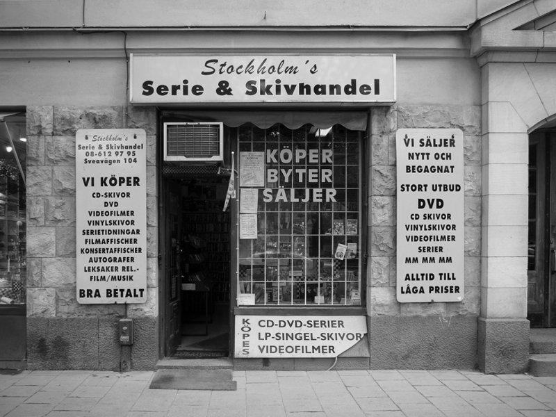 Serie & Skivhandel