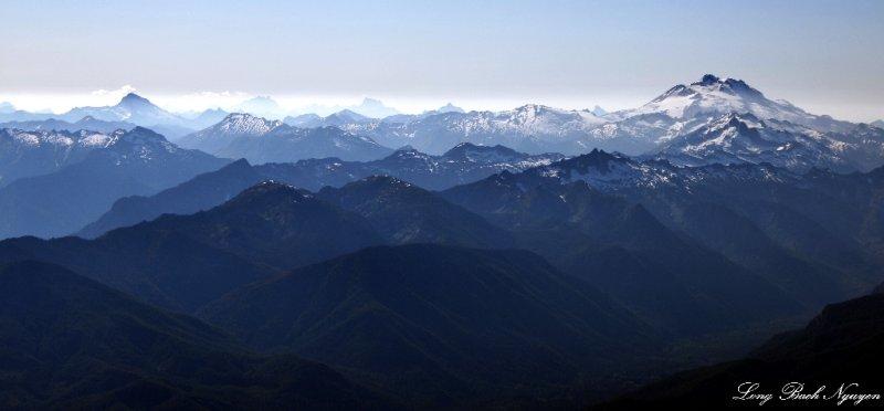 Glacier Peak, Chiwawa Ridge, Sloan Peak, Three Fingers, Whitehorse Mt, Bedal Peak, Cascade Mountains