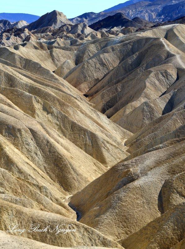 Gower Gulch, Black Mountains, Furnance Creek Basin, Death Valley National Park, California