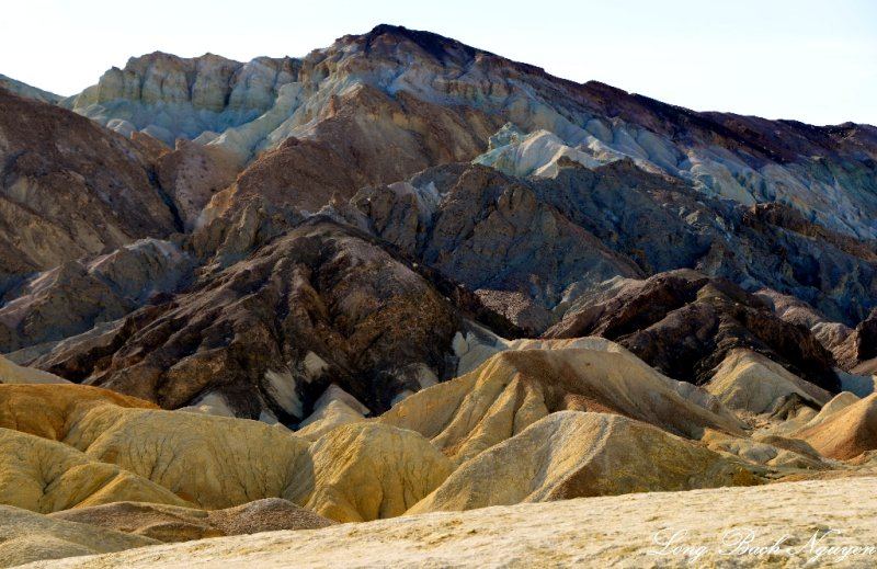 Landscape in 20 Mule Team Canyon, Death Valley National Park, California
