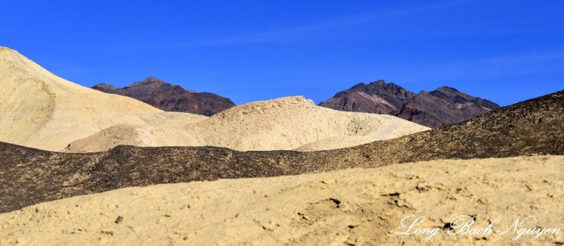 changes in color, Death Valley National Park, California