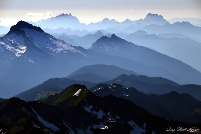 Pugh Mountain, Three Sisters, Whitehorse Mountain, Cascade Mountains, Washington