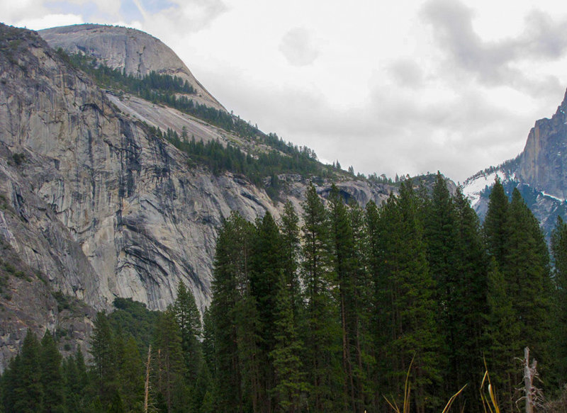 North Dome with Royal Arches. Faces Half Dome. #2354