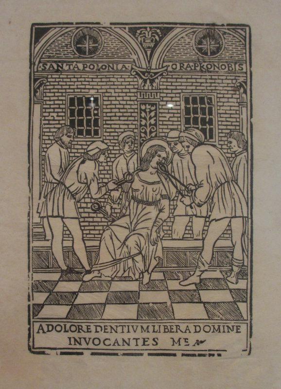St. Apollonia under torture
