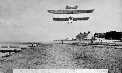 Flying at Leysdown