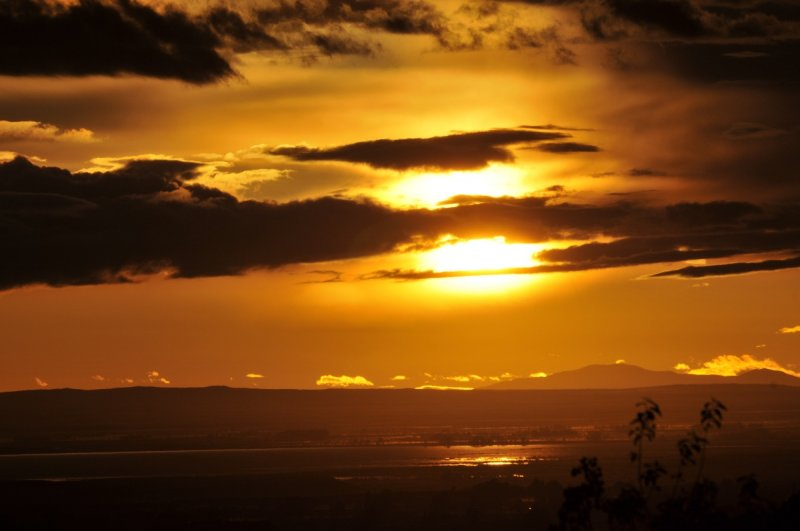 _DSC0781 Pocatello Sunset over the American Falls Reservoir.JPG