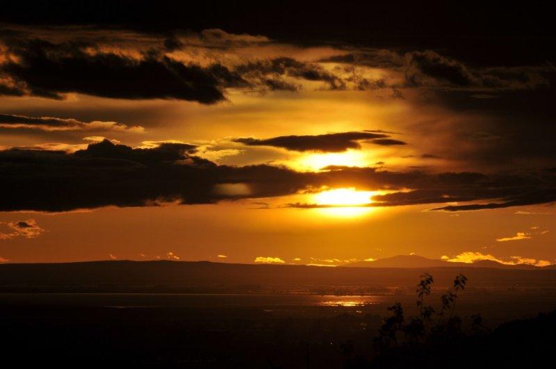 _DSC0782 Pocatello Sunset Modified in GIMP Image Editor.JPG