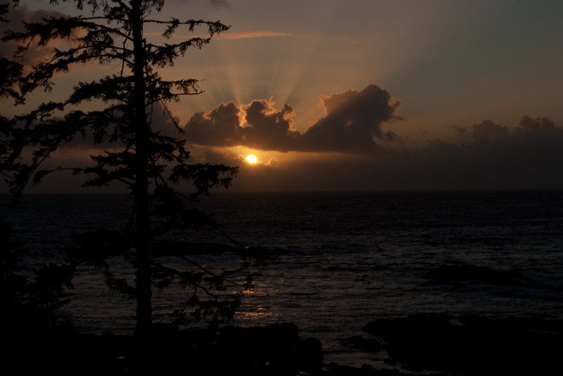 Sunset, Ucluelet