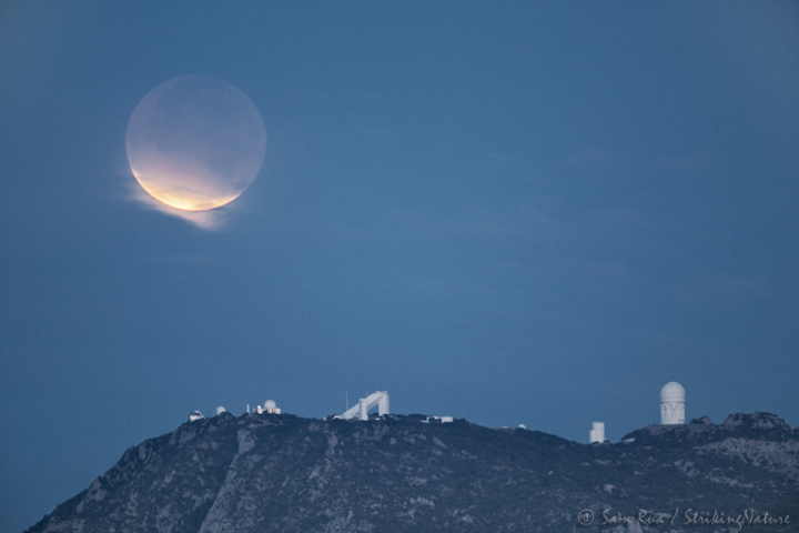 Lunar Eclipse Over Kitt Peak