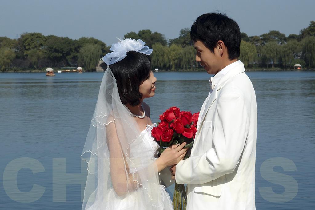 Wedding shoot at West Lake