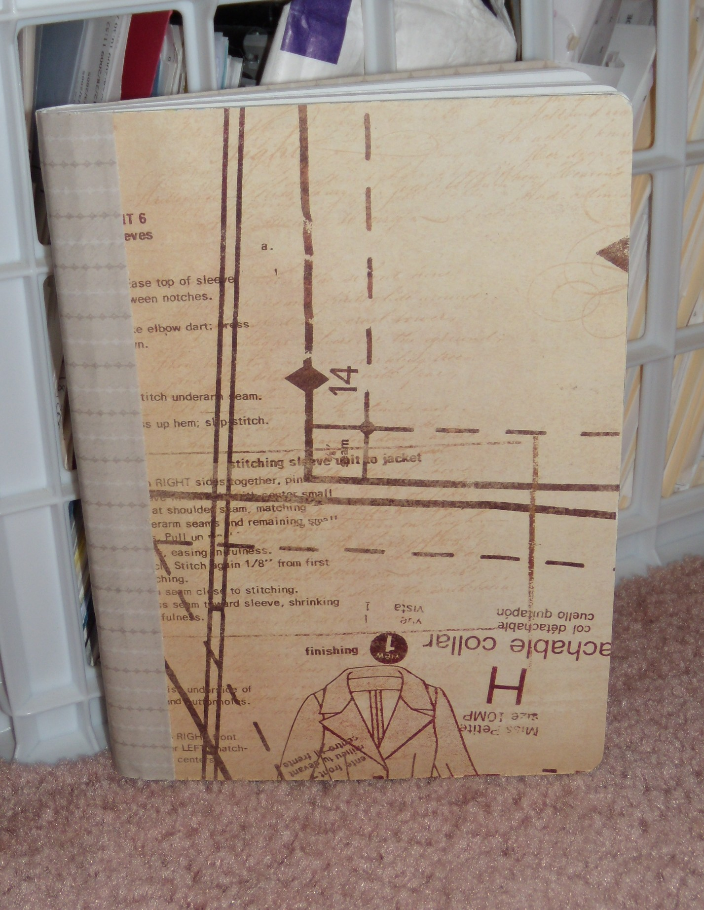 Sewing Notebook from Barbara