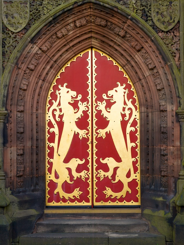 Red doors rampant - John