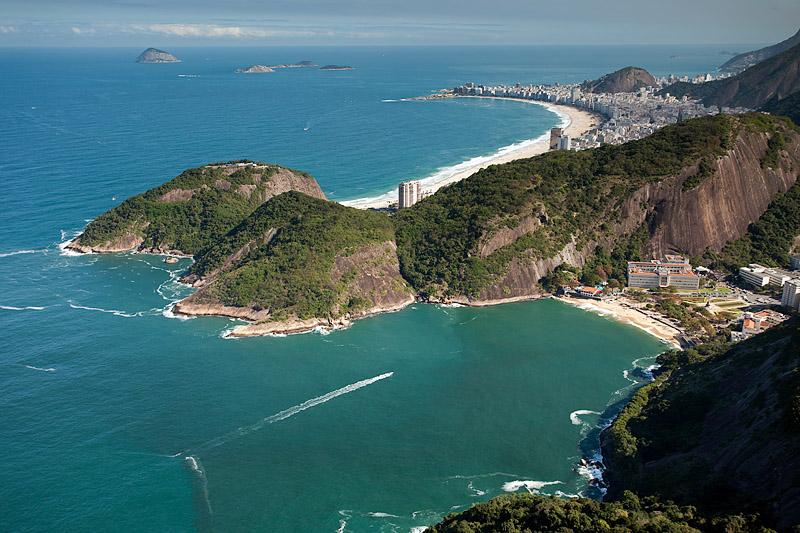 Vermelha and Copacabana Beaches