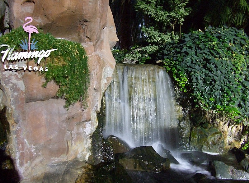 Flamingo Waterfall