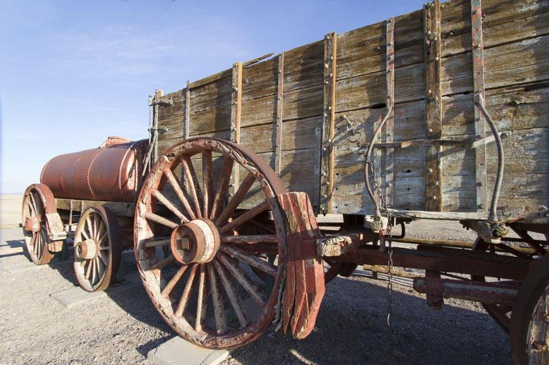 Wagons used at Borax Works