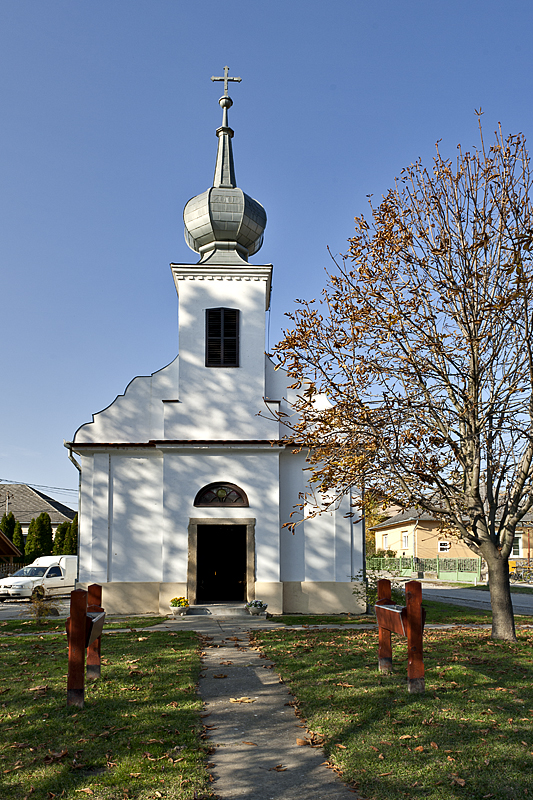 Kakasd, community center, Swabian church