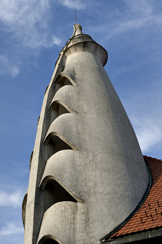 Community center, monolith
