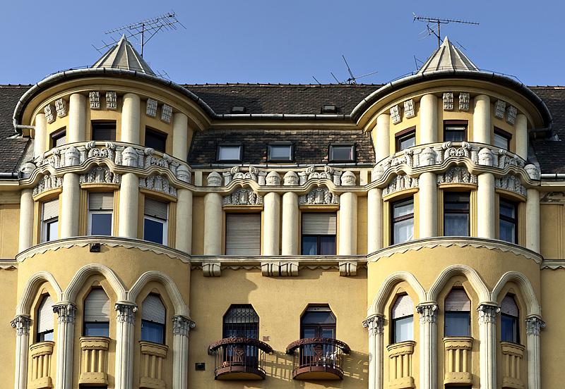 Building I always see on Váci Út