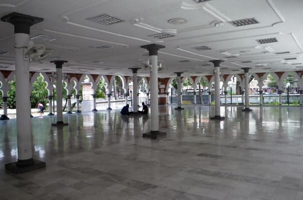 Marble Floor of Masjid Jamek