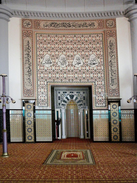 Mihrab of Floating Mosque