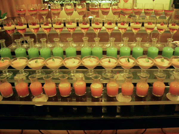 Colorful Non-Alcoholic Drinks