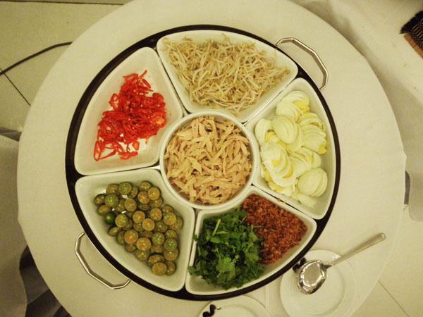 Sections of Circular Dish