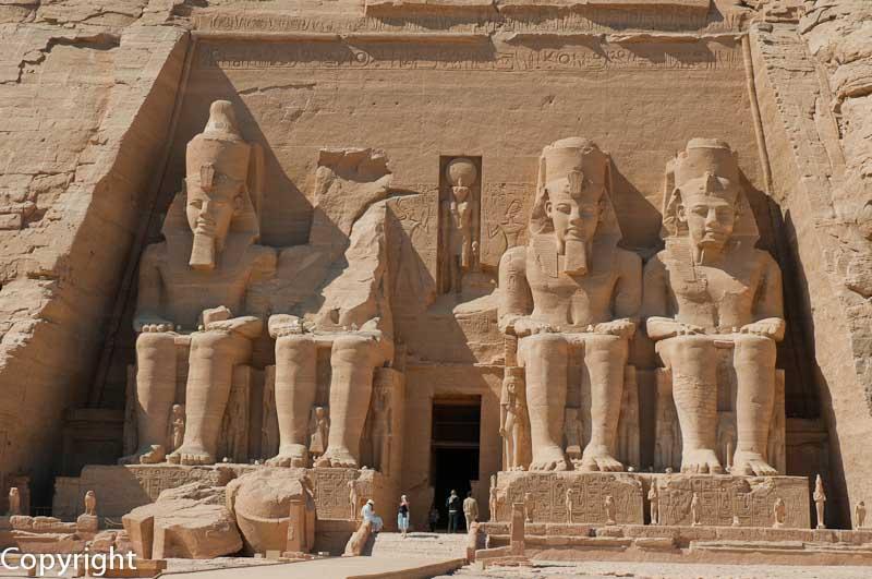Sun Temple, Abu Simbel, Egypt