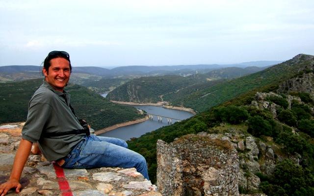 Cristian Jensen in Monfragüe