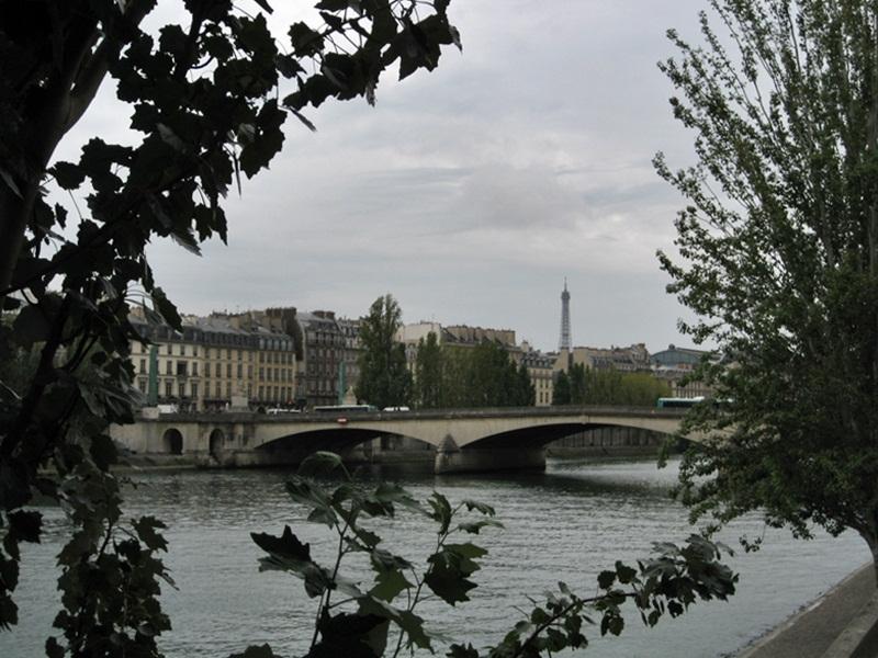 Rio Sena. La Seine