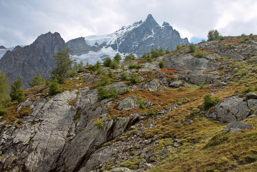 steep and rocky path
