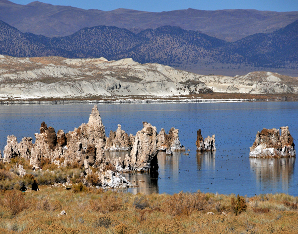 View of Tufas at Mono Lake