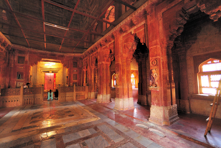 Inside Jain Temple
