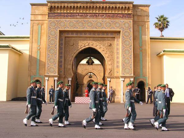 Rabat: King Mohammed VI palace