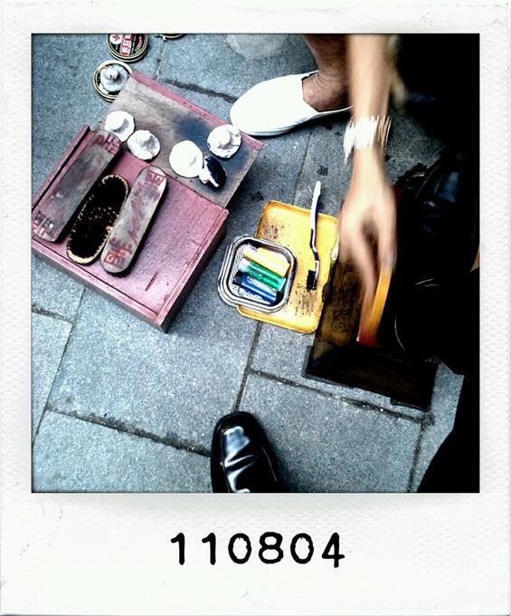 110804 - one last shoeshiner