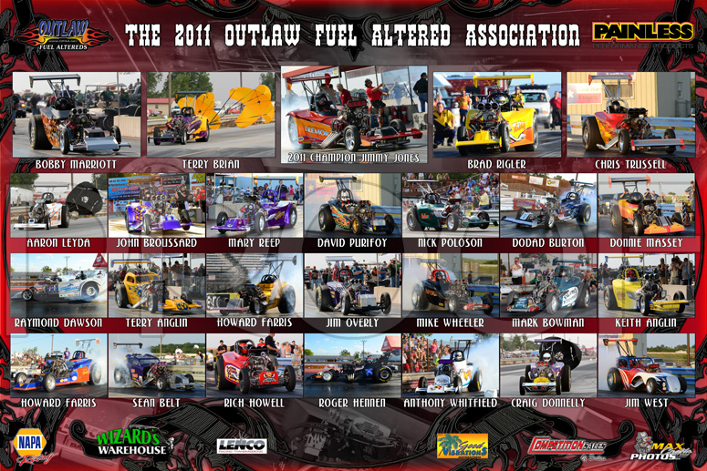 2011 Outlaw Fuel Altered Assoc.