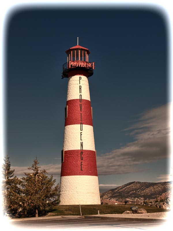 Providence Landlocked Lighthouse