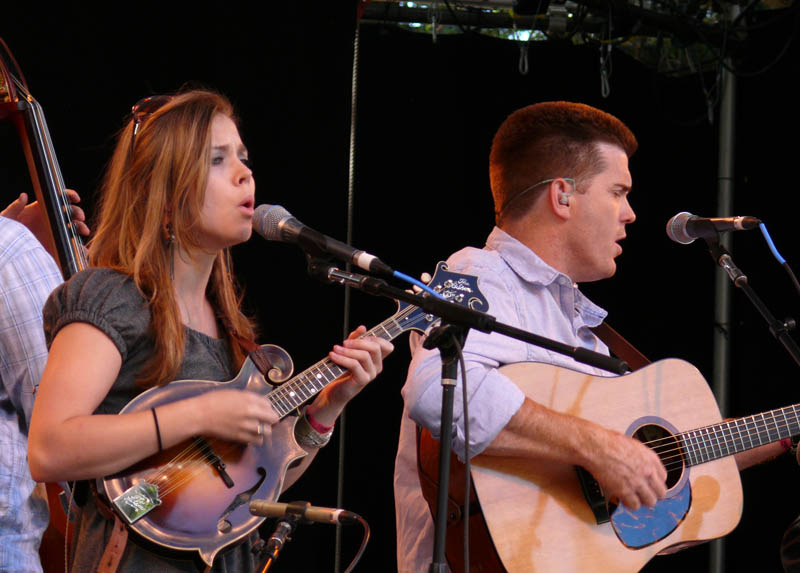 Sierra Hull and Clay Hess