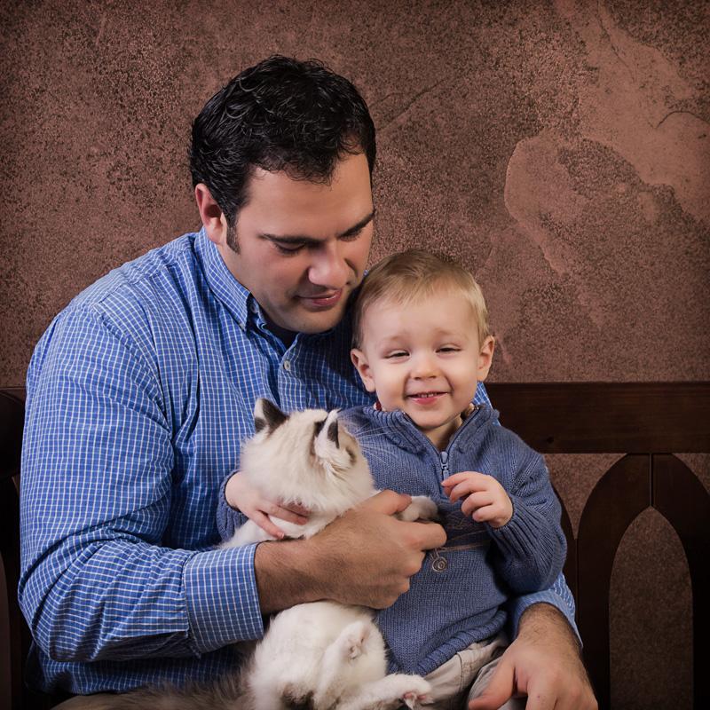 Daddy Zach n Kitty_