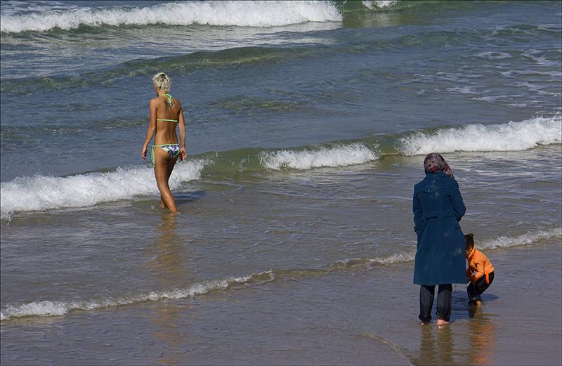 Winter at Tel Aviv Beach