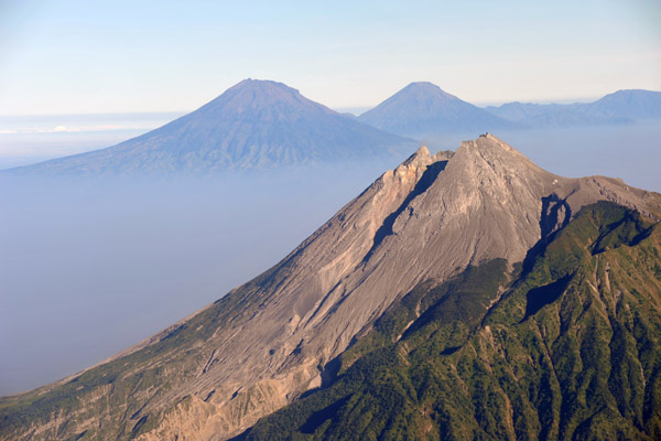 Mt. Merapi, Indonesia - highly active