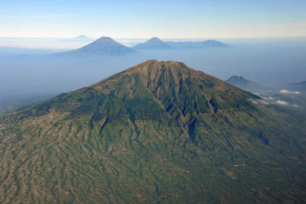 Mt. Merbabu last erupted in 1797