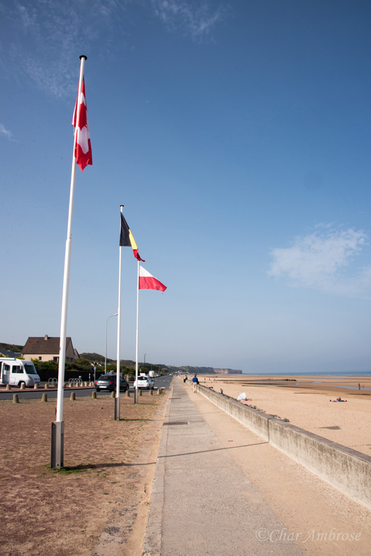 Promenade Along Omaha Beach
