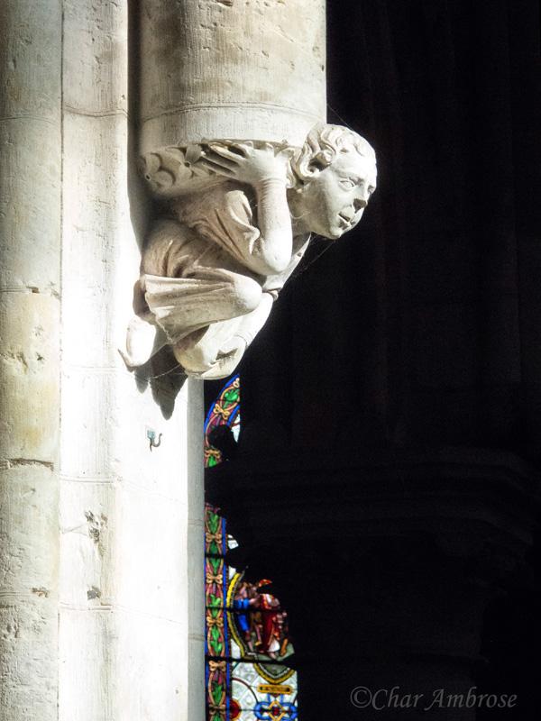 Sculpture in Saint Saviour Church