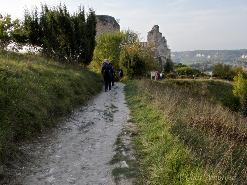 Pathway to Chateau Gaillard
