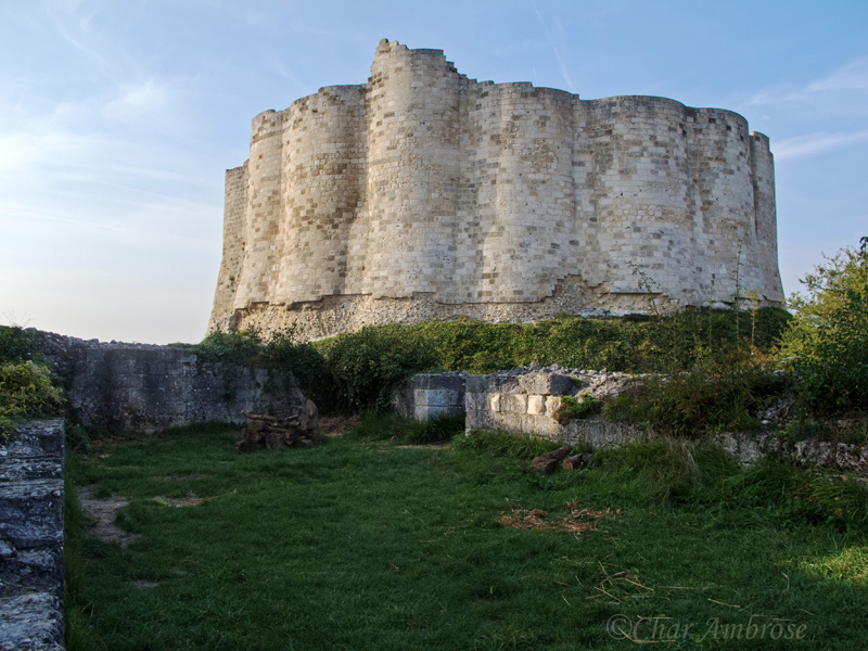 Chateau Gaillard Rampart